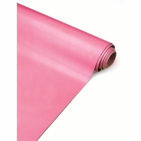 Lençol Lâmina Rosa de Borracha